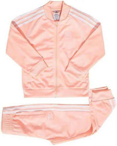 Joggery - różowe Adidas
