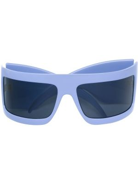 Прямые муслиновые фиолетовые солнцезащитные очки Gianfranco Ferre Pre-owned
