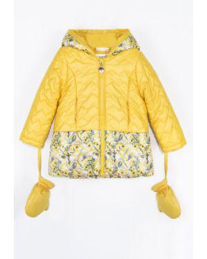 Желтая куртка Coccodrillo
