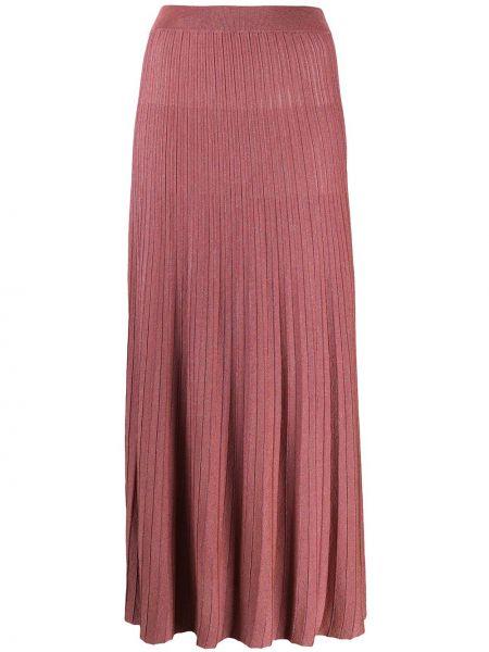 Плиссированная юбка с завышенной талией вязаная Roberto Collina