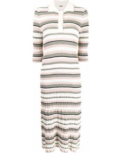Платье миди в рубчик Adam Lippes