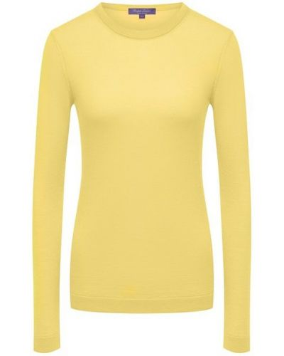 Кашемировый пуловер - желтый Ralph Lauren
