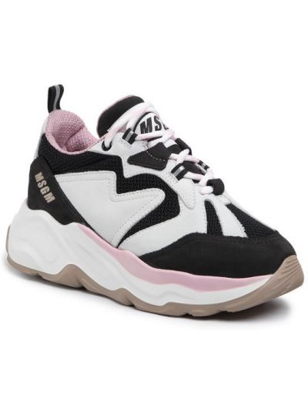 Białe sneakersy Msgm