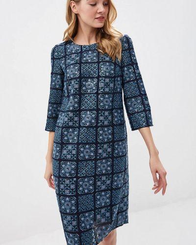 Вечернее платье осеннее синее Ksenia Knyazeva