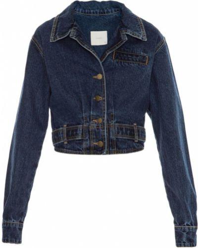 Прямая синяя джинсовая куртка Framed