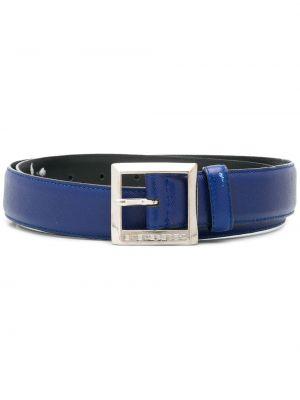 Кожаный синий ремень с пряжкой Gianfranco Ferre Pre-owned