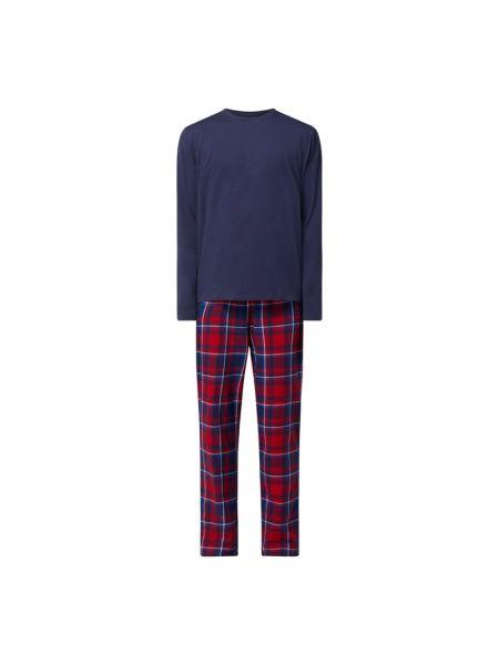 Niebieska spodni piżama bawełniana z długimi rękawami Christian Berg Men