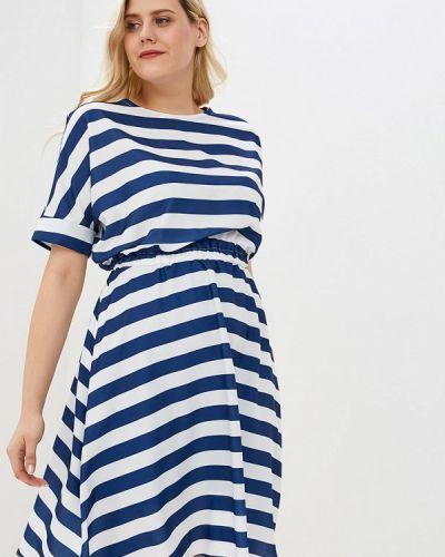 Повседневное платье синее Tutto Bene Plus