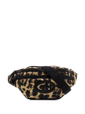 Спортивная поясная сумка - коричневая Goldbergh