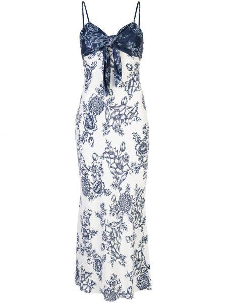 Тонкое платье на бретелях узкого кроя из вискозы Shona Joy
