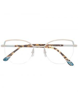 Солнцезащитные очки металлические - белые Etnia Barcelona