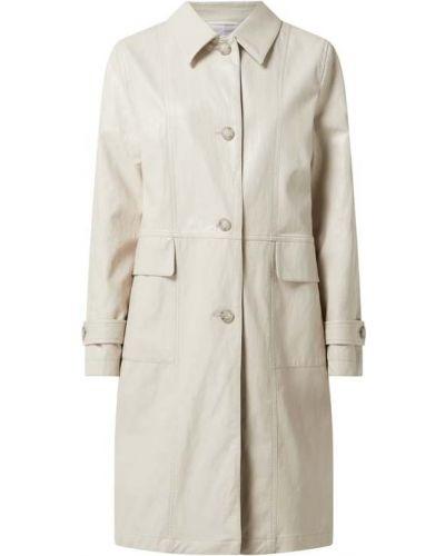 Beżowy płaszcz bawełniany zapinane na guziki Cinque
