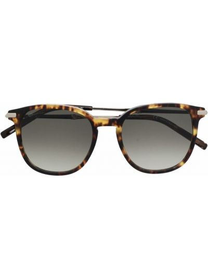 Солнцезащитные очки металлические - коричневые Salvatore Ferragamo