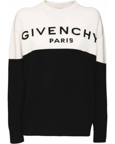 Sweter z logo Givenchy