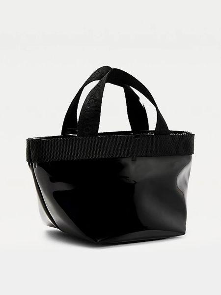 Сумка шоппер - черная Tommy Hilfiger