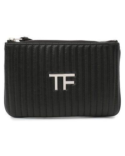 Кожаный клатч Tom Ford
