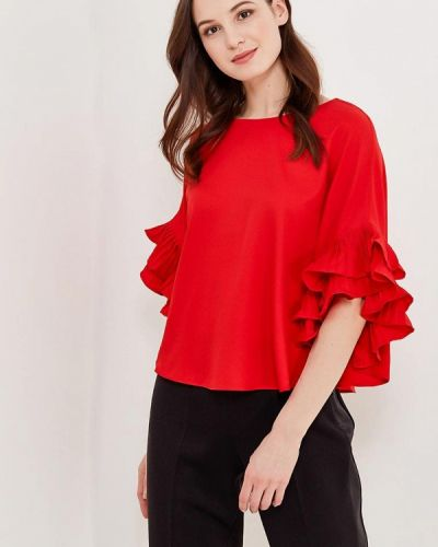 Блузка - красная Paccio