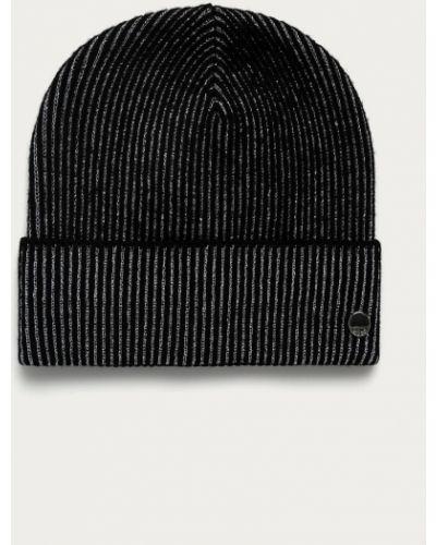 Czarna czapka wełniana Hugo