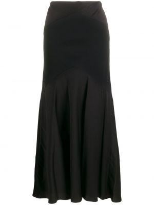Расклешенное приталенное платье прозрачное без рукавов Ralph Lauren Collection