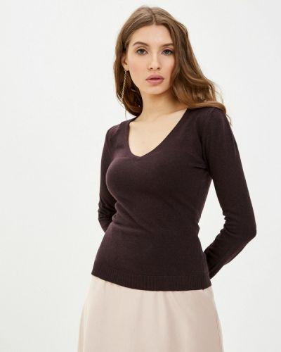 Коричневый пуловер William De Faye