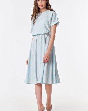 Летнее платье миди в горошек Victoria Filippova