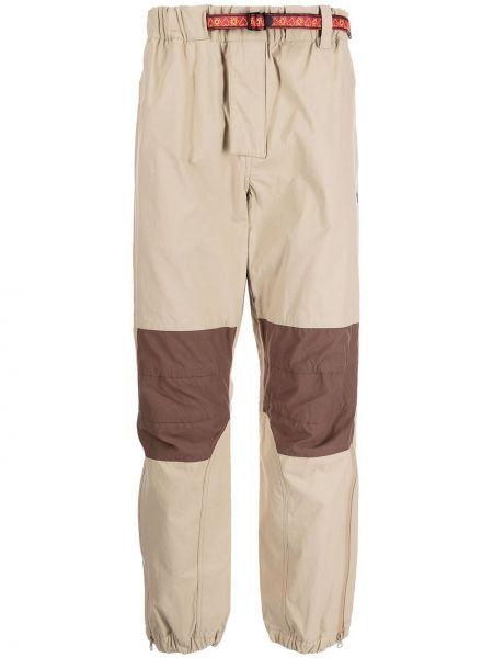 Коричневые брюки с поясом Billionaire Boys Club