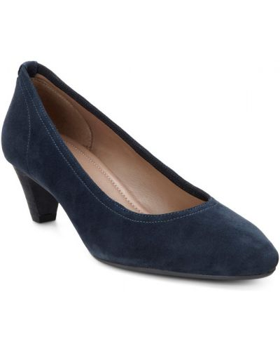 Туфли на каблуке кожаные классические Ecco