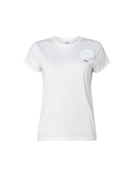 Koszula z haftem z kwiatowym nadrukiem Polo Ralph Lauren