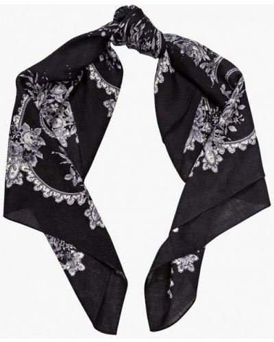 Черный платок итальянский Eleganzza