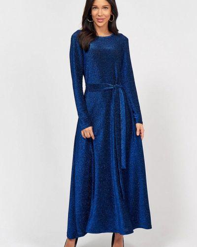 Синее вечернее платье Lussotico