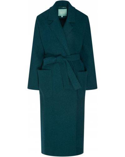 Пальто зеленое пальто-халат Akhmadullina Dreams