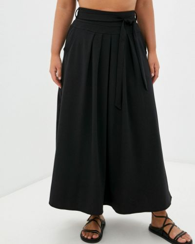 Черная зимняя юбка Malena