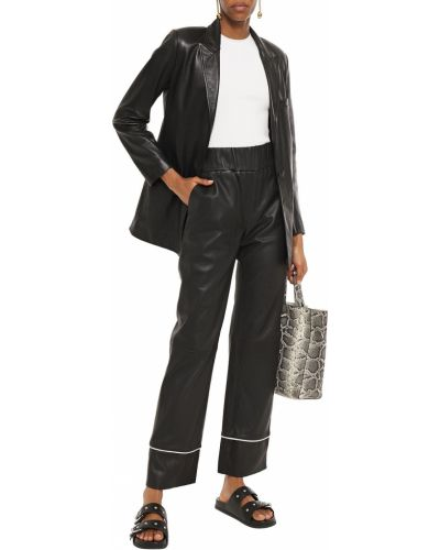 Черные брюки с карманами Stand Studio