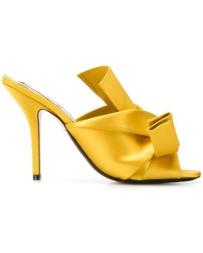 Мюли желтый N21