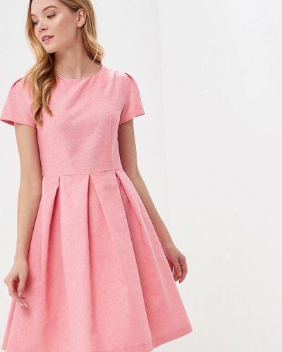 Розовое платье весеннее Gregory