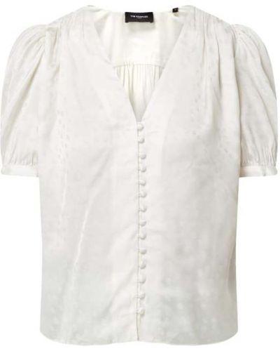 Satynowa bluzka - biała The Kooples
