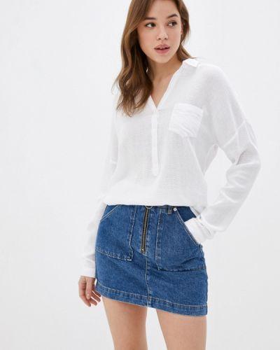 Белая блузка с длинными рукавами Mavi