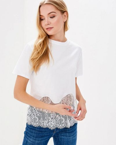 Белая футболка Sweewe