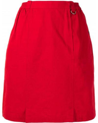 Spódnica ołówkowa z wysokim stanem bawełniana Christian Dior