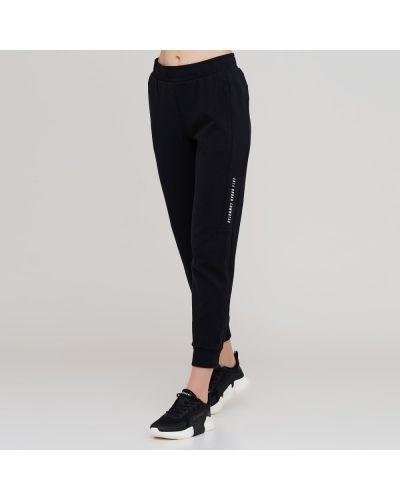 Черные спортивные брюки с поясом Anta