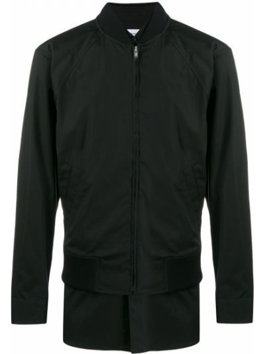 Czarna kurtka bawełniana z długimi rękawami Comme Des Garcons Shirt