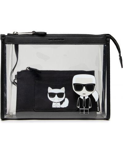 Biała kosmetyczka Karl Lagerfeld
