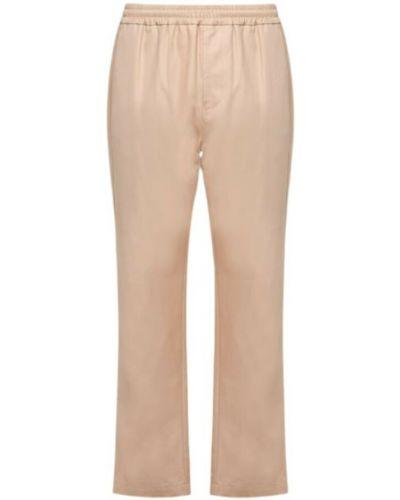 Beżowe spodnie dresowe Msgm