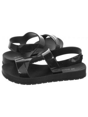 Sandały sportowe - czarne Zaxy