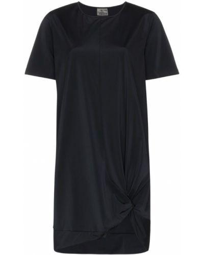Футбольная черная футболка стрейч Charli Cohen