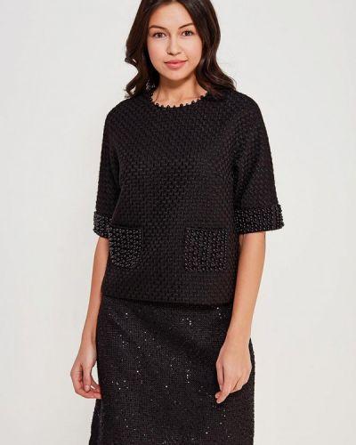 Черная блузка Lusio