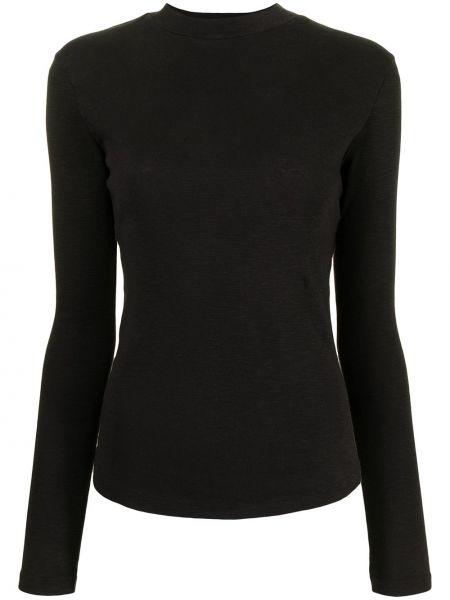 Czarna koszulka z długimi rękawami Ymc
