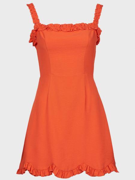 Платье из вискозы - красное Finders Keepers