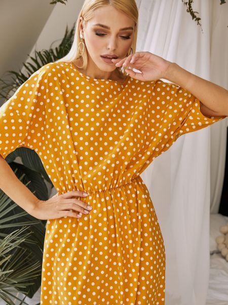 Платье - желтое Vovk