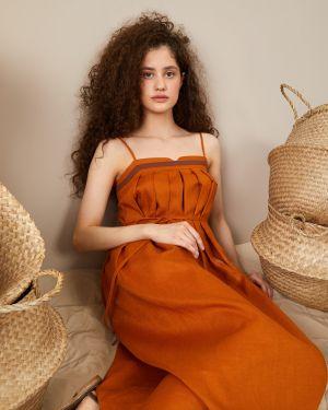 Платье платье-сарафан льняное 12storeez